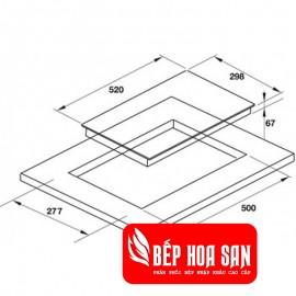 Bếp Điện Hafele HC-R302D 536.61.670 - 30cm - Tây Ban Nha