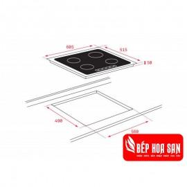 Bếp Từ TEKA IT 6420 - 60cm Thổ Nhĩ Kỳ