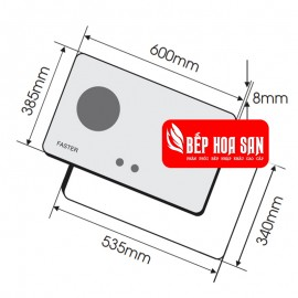 Bếp Gas Faster FS-269S - 60cm