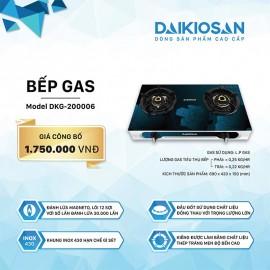 Bếp Gas Daikiosan DKG-200006 - 69cm Việt Nam