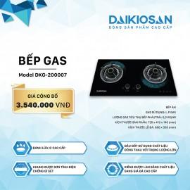 Bếp Gas Âm Daikiosan DKG-200007 - 72.5 cm Việt Nam