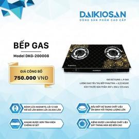 Bếp Gas Daikiosan DKG-200008 - 69cm Việt Nam