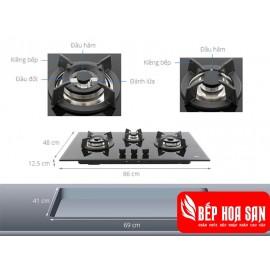 Bếp Ga Teka GT LUX 86 3G AI AL 2TR - 85cm