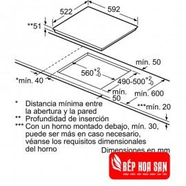 Bếp Từ Bosch HMH.PID651DC5E - 60cm Tây Ban Nha