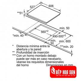 Bếp Từ Bosch HMH.PID675DC1E - 60cm Tây Ban Nha