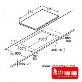 Bếp Từ Bosch HMH.PPI82560MS - 80cm
