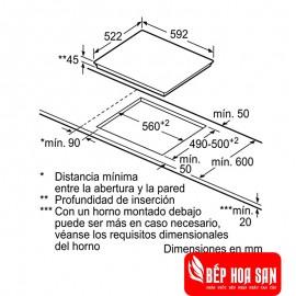 Bếp Từ Bosch HMH.PVJ631FB1E - 60cm Tây Ban Nha