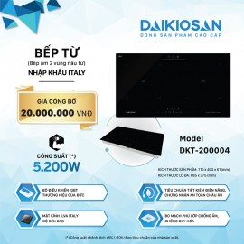 Bếp Từ Daikiosan DKT-200004 - 70cm Italy