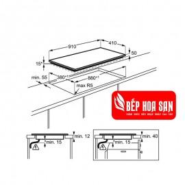 Bếp Từ Âm Electrolux EHL9530FOK - 6900W Thổ Nhĩ Kì