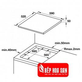Bếp Từ Hafele HC-IF6D 536.01.911 - 60cm - Tây Ban Nha