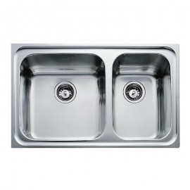 Chậu rửa inox TEKA CLASSIC 860.500.2B (2C)