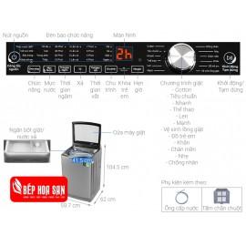 Máy Giặt Aqua AQW-DR120CT - 12Kg