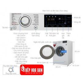 Máy Giặt LG FC1408S5W - 8Kg
