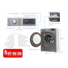 Máy Giặt LG FC1409S2E - 9Kg