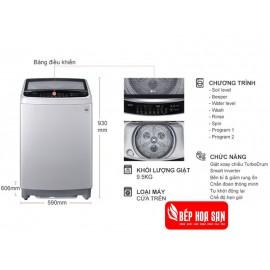 Máy Giặt LG T2395VS2M - 9.5Kg