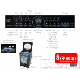 Máy Giặt Panasonic NA-FD11AR1BV - 11.5Kg