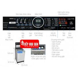 Máy Giặt Panasonic NA-FS95V7LMX - 9.5Kg