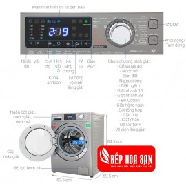 Máy Giặt Panasonic NA-V10FX1LVT - 10Kg