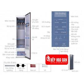 Tủ Chăm Sóc Áo Quần Thông Minh Samsung DF60R8600CG - 6Kg