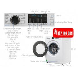 Máy Giặt Samsung WW90J54E0BW/SV - 9Kg