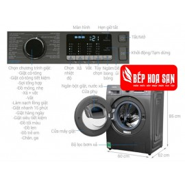 Máy Giặt Samsung WW90K54E0UX/SV - 9Kg