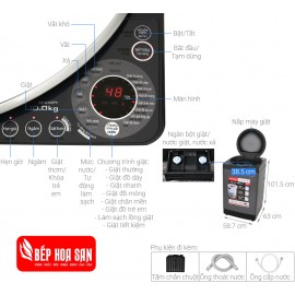 Máy Giặt Sharp ES-W100PV-H - 10Kg