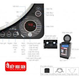 Máy Giặt Sharp ES-W102PV-H- 10.2Kg