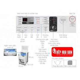 Máy Giặt Toshiba AW-K900DV - 8Kg