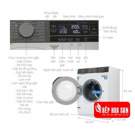 Máy Giặt Electrolux EWF1023BEWA - 10Kg