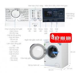 Máy Giặt Electrolux EWF8024BDWA - 8Kg