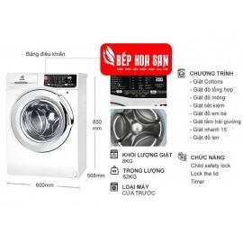 Máy Giặt Electrolux EWF8025BQWA - 8Kg
