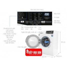 Máy Giặt Electrolux EWF8025CQWA - 8Kg
