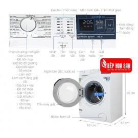 Máy Giặt Electrolux EWF9024BDWA - 9Kg