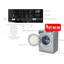 Máy Giặt Electrolux EWF9025BQSA - 9Kg