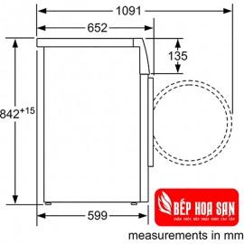 Máy Sấy Bosch WTW85460BY - 8KG Ba Lan