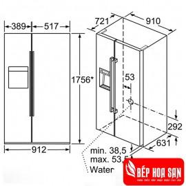 Tủ Lạnh Bosch HMH.KAD92HI31 - 540L