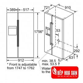 Tủ Lạnh Bosch HMH.KAD92SB30 - 636L