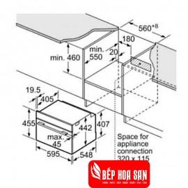 Lò Nướng Bosch HMH.CSG656RS1 - 47L 3300W Đức