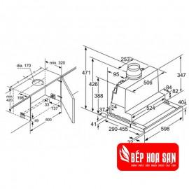 Máy Hút Mùi Bosch HMH.DFS067J50B - 60cm Đức