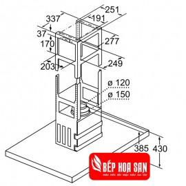 Máy Hút Mùi Bosch HMH.DIB98JQ50B - 90cm Đức