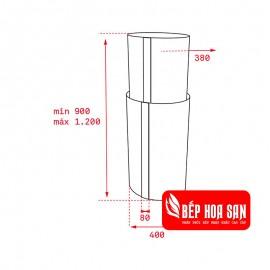 Máy Hút Mùi Teka CC 485 - 40cm Tây Ban Nha