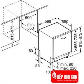 Máy Rửa Chén Bosch HMH.SMV68TX06E - 12 Bộ Đức