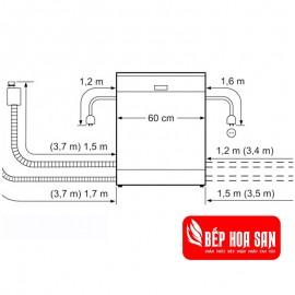 Máy Rửa Chén Bosch SMS46NI04E - 13 Bộ Đức