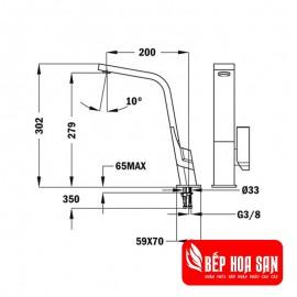 Vòi rửa TEKA IC 915