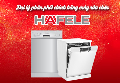 Đại Lý Phân Phối phẩm Máy rửa chén Hafele Chính Hãng Tại Tp.HCM