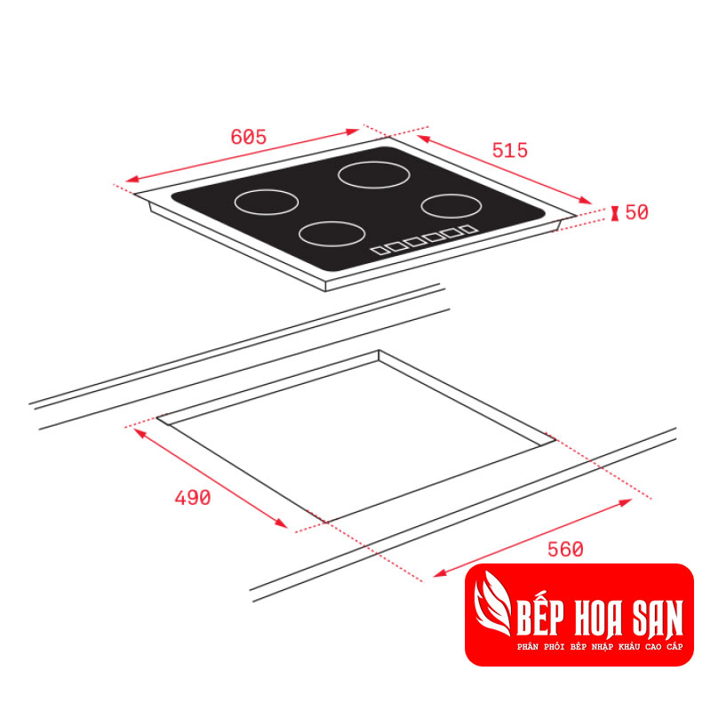 Bếp Điện Từ Teka ITF 6320