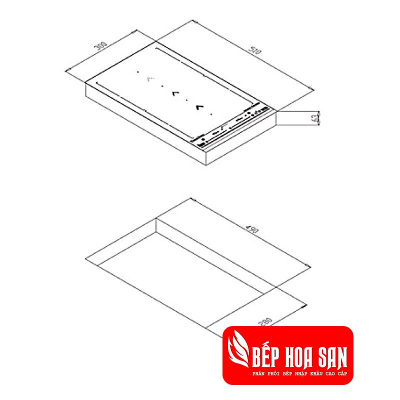 Hình ảnh Bếp ĐiệTự nhận diện đáy nồin Từ Teka IZS 34600 DMS