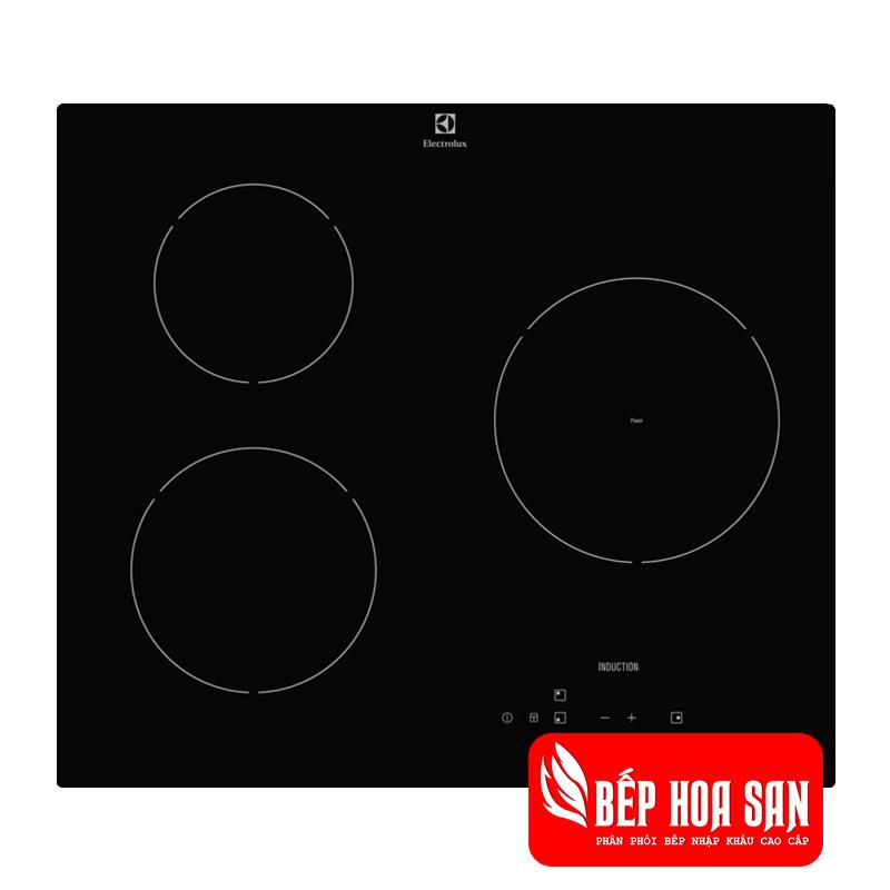 Hình ảnh Bếp Từ Âm Electrolux E6203IOK với màu đen sang trọng