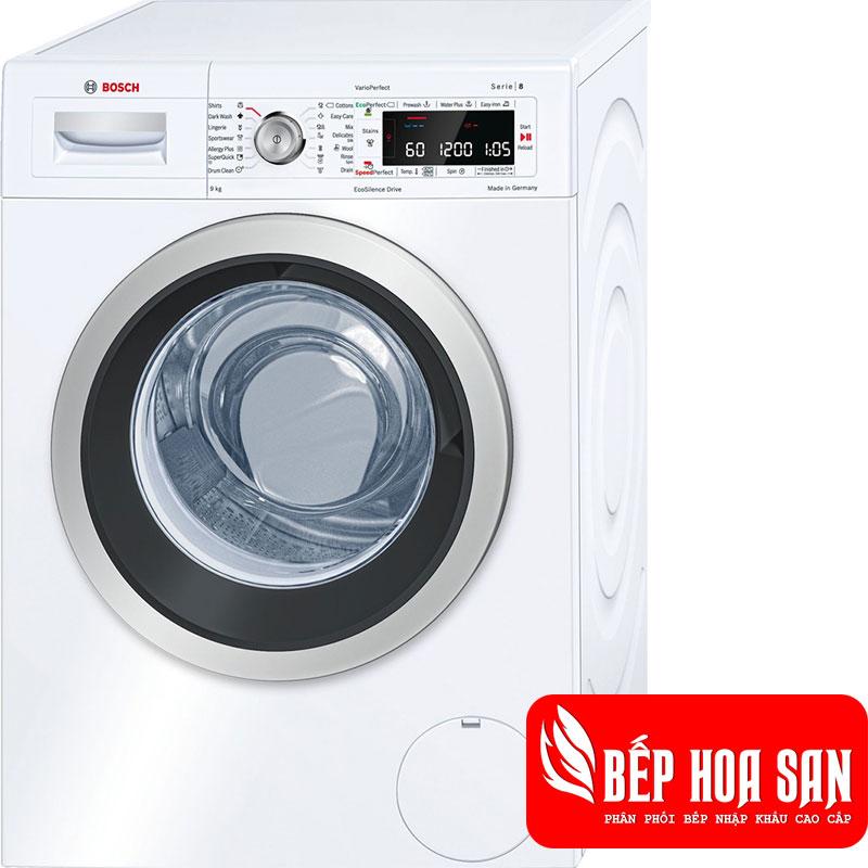 Máy Giặt Bosch WAW28560EU giặt được khối lượng 9 kg