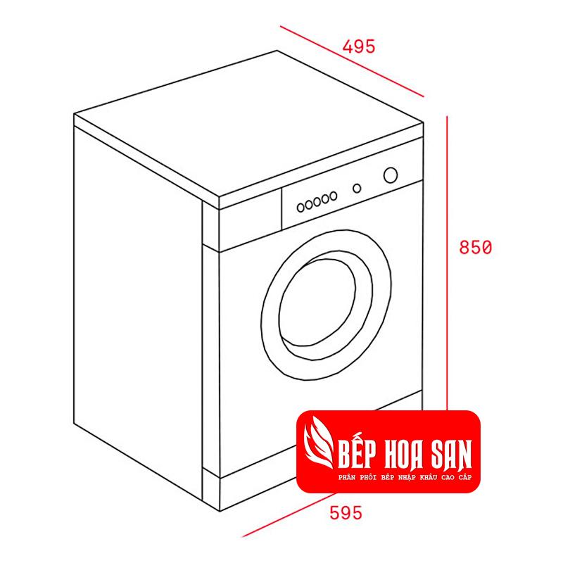 Hình ảnh Máy Giặt Sấy Kết Hợp Teka TK4 1270 White